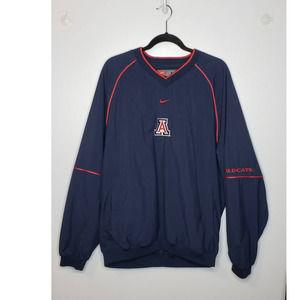 Arizona Wildcats Nike Pullover Jacket Vented